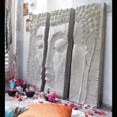 Tryptique de Bouddha, Maison de Monde 2012