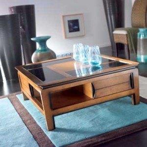Table basse salon interieur decoration for Bibelots decoration salon