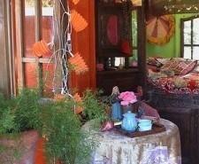 Décoration intérieur style bohémien