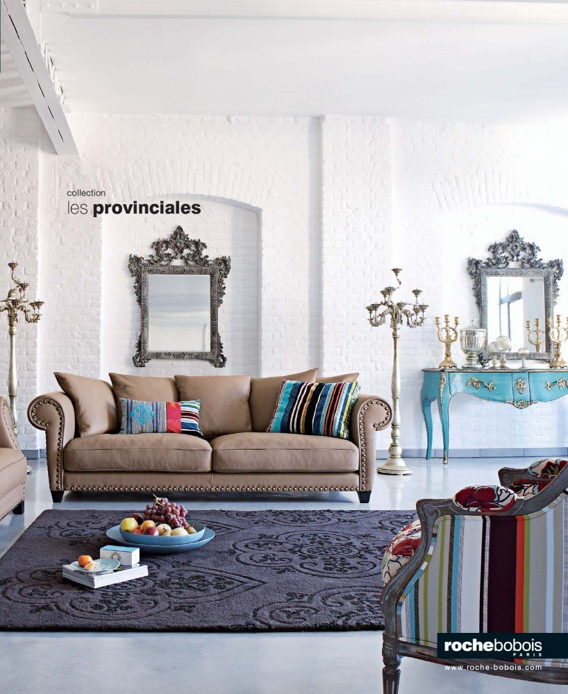 Roche bobois catalogue 2011 interieur decoration for Catalogue canape roche bobois