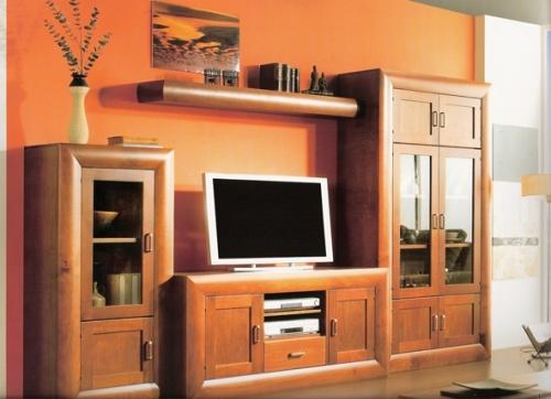 Muebles de salon pino macizo de gran calidad interieur for Muebles de pino macizo